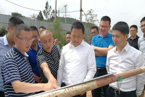 江彬调研城建和交通攻坚重点项目建设工作-郑州网站建设