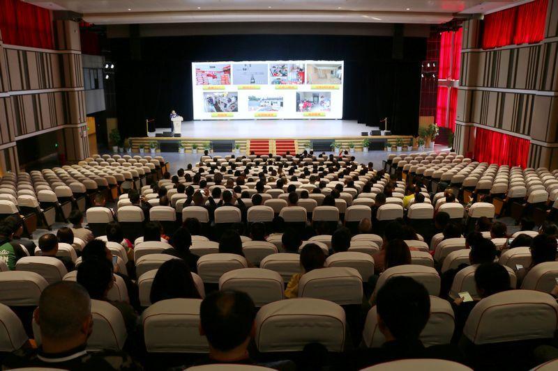 科创区召开居住类综合楼消防安全培训会